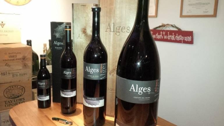 Delivery of big bottles of Alges