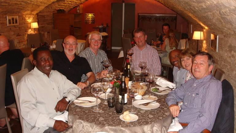 TDV 2014 – Dinner at Restaurant Caveau des Arches in Beaune