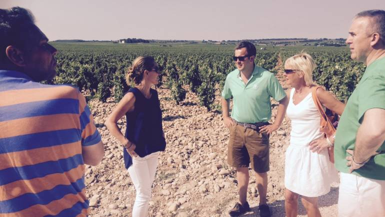 Stunning trip to Rhone for the Tour du Vin 2015