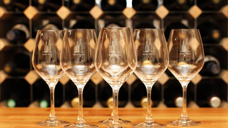 Wine Glasses Now Available