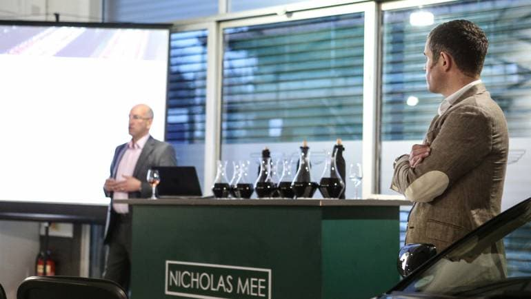 Waud Investment Wine 2015 En Primeur Campaign Launch – Nicholas Mee Aston Martin