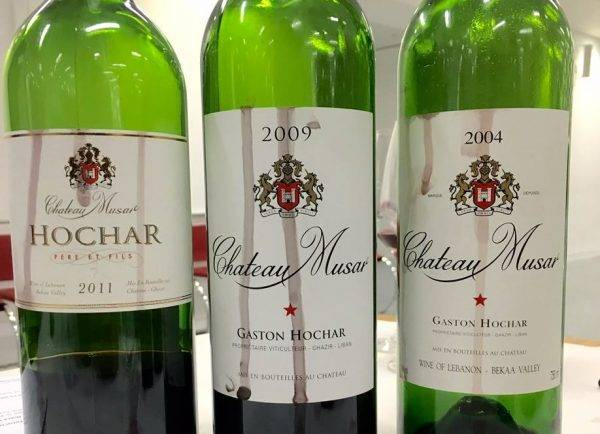 Chateau Musar Dinner – Union Street Cafe
