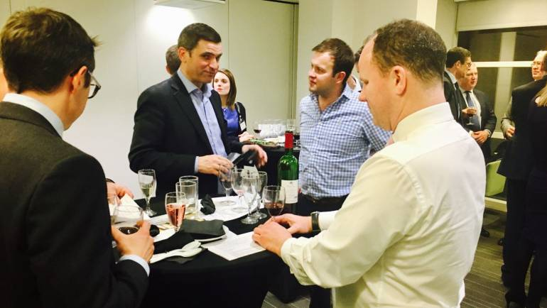 Corporate Wine Tasting – Property Consultants and Chartered Surveyors