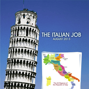 August 2013 – The Italian Job Taster Case
