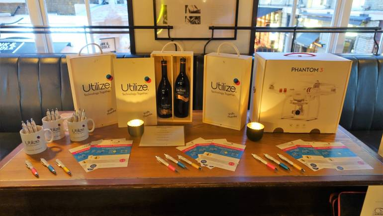 Corporate Gin tasting – Utilize Plc