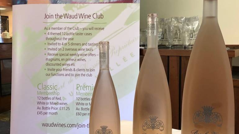 Summer Portfolio Wine Tasting