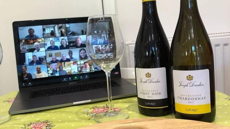 Joseph Drouhin Virtual Burgundy Tasting