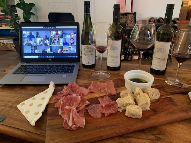 Special Italian Virtual Wine Tasting